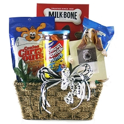 Faithful Forever Friends: Pet Dog Gift Basket