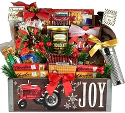 Keepsake Christmas Gourmet Gift Basket