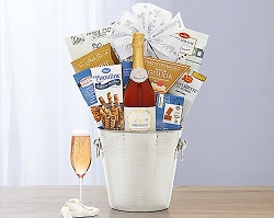 Happy Anniversary Sparkling  Champagne  Collection Gift Basket