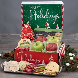 Happy Holidays Sweets and Treats Gift Box