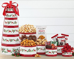 Holiday Charms: Christmas Holiday Gift Tower Canada