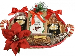 Merry Gourmet Holiday Gift Basket