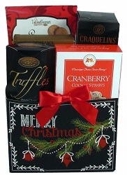 Merry Christmas Celebration: Holiday Gift Basket