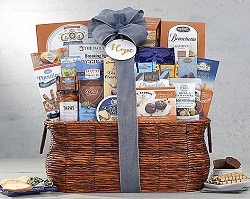 Sweet and Gourmet Savory Fare Gift Basket