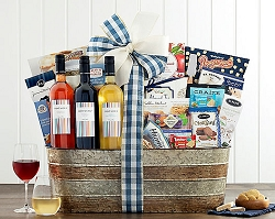Deluxe Spanish Wine Trio Gift Basket