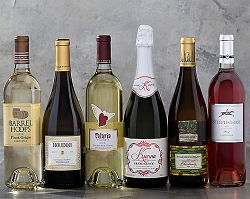 Sparkling Rose and White Wine Collection