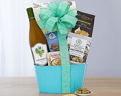 Vineyards Chardonnay Wine Gift Basket