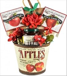 Apple Themed  Fall Gift Basket