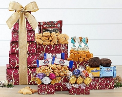 Assorted Sweets & Chocolate Gift Tower