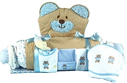 Bear Play & Changing Mat Layette Baby Boy Gift