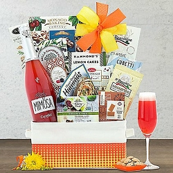 Canella Blood Orange Mimosa Collection Sparkling Wine Gift Basket