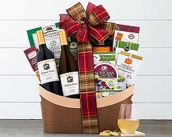 California Vineyards Luxury Wine Gift Basket