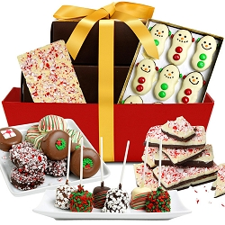 Chocolate Covered Christmas: Holiday Gift Box