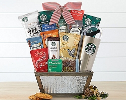 Starbucks Coffee Lover Delights Gift Basket