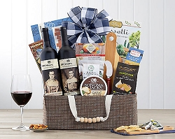 19 Crimes Australian Red Wine Duet Gift Basket