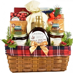 Deluxe Holiday Breakfast Gift Basket