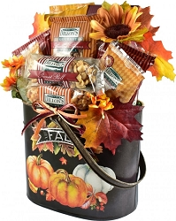 Fall Splendor: Deluxe  Autumn Gift Basket