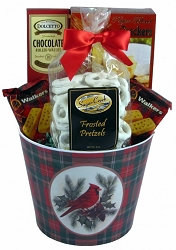 Festive Greetings Holiday Gift Basket