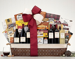Gift Of Excellence Fine Wine Collection Gift Basket