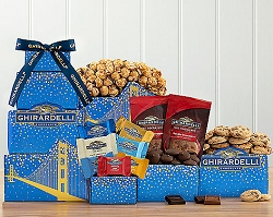 Ghirardelli Chocolate Deluxe Gift Tower