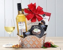 Gourmet and Wine of Spain Gift Basket