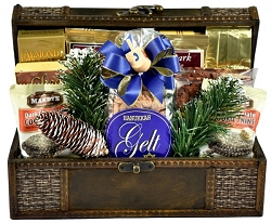 Deluxe Hanukkah Celebration Gift Basket