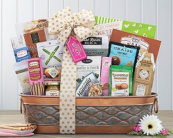 Happy Mother's Day Savory and Sweet Gift Basket