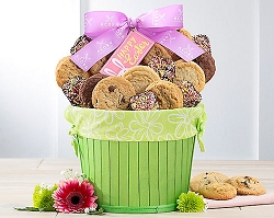 Happy Easter Cookie & Brownie Gift Basket