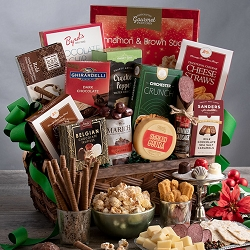 Holiday Premium: Gourmet Christmas Gift Basket