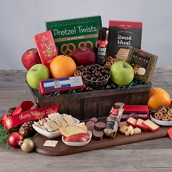 Holiday Fruit: Gourmet Christmas Gift Basket