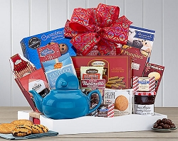 Tea Delight Breakfast Gift Basket