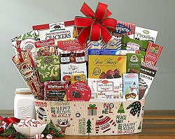 Joy Of The Holidays: Christmas Gift Basket