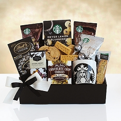 Keepsake  Starbucks Holiday Gift Basket