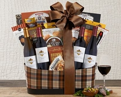 Vip Luxury Finest Champagne & Wine Gift Basket
