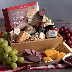 Meat & Cheese Sampler Gourmet Gift Crate