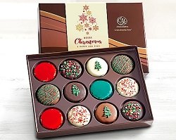 Merry christmas Holiday's Chocolate Covered Oreos