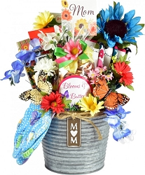 A Gardening Gift For Mom's: Gift Basket For Mothers