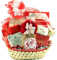 Nuts For You: Valentines Day Gift Basket