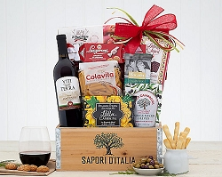 Night In Venice: Wine Gift Basket