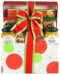 Santa's Christmas Sampler Gourmet Holiday Gift