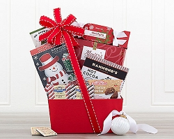 Santa's Delivery Sweets Gift Basket