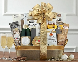 Sparkling  Grand Cuvee Champagne Gift Basket