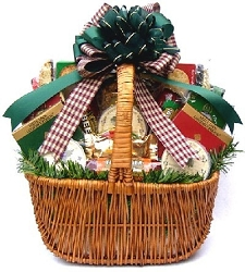 Traditional Holiday Favorites Food Gift Basket