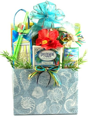 Tropical Breeze: Snacks Florida Gift Basket