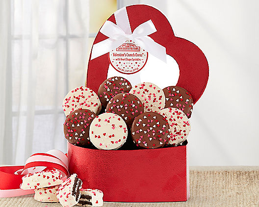 Valentine's Day Oreo Cookies Heart Gift Basket