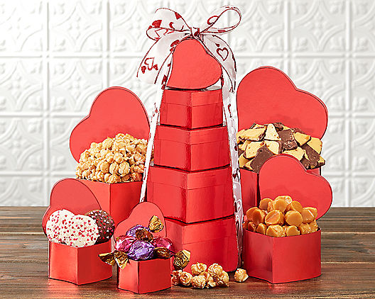 Valentine Favorites Gift Tower