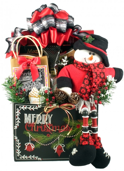 A Very Merry Christmas: Holiday Gift Basket