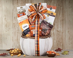 Welcome Fall Deluxe Gourmet Gift Basket