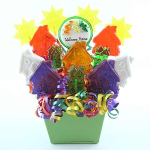Welcome Home Lollipop Bouquet