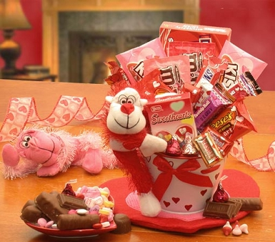 Wild In Love With You Valentine Gift Basket